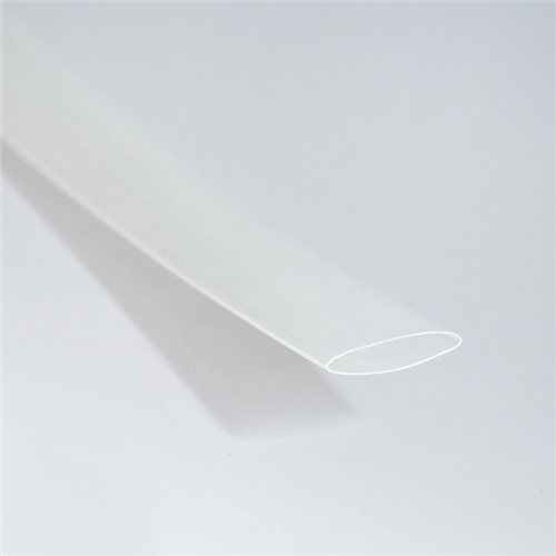 Sumitomo A11 1/2in Heat Shrink 1M Clear 12.7mm to 6.4mm Sumitube A11-1/2-Clear  - Click to view a larger image
