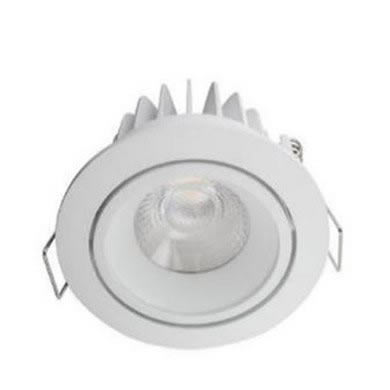 Integral LED Downlight COB 10W 5000K 620 lm Non Dim Adjustable/tilt 24-88-78
