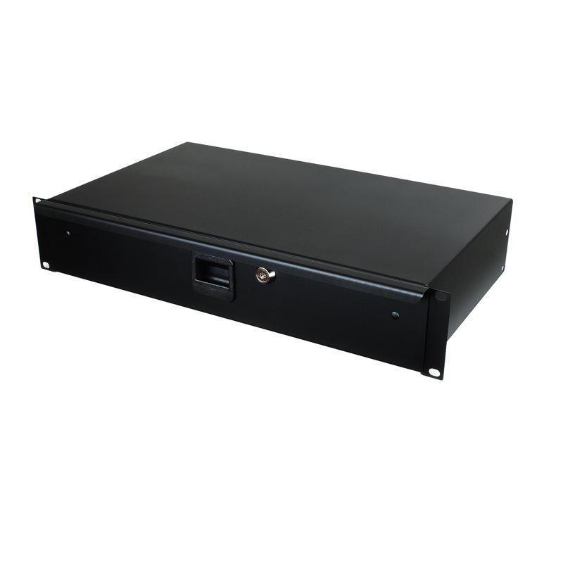 "Penn Elcom 2U Rack Drawer 254mm/10"" Deep R1292K/10"