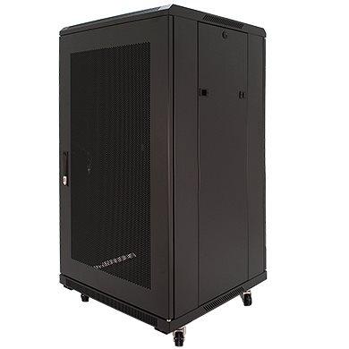 Penn Elcom 22U 19 Inch Server Rack Enclosure 600mm/23.62 Deep Perforated Door EMP-6622BK