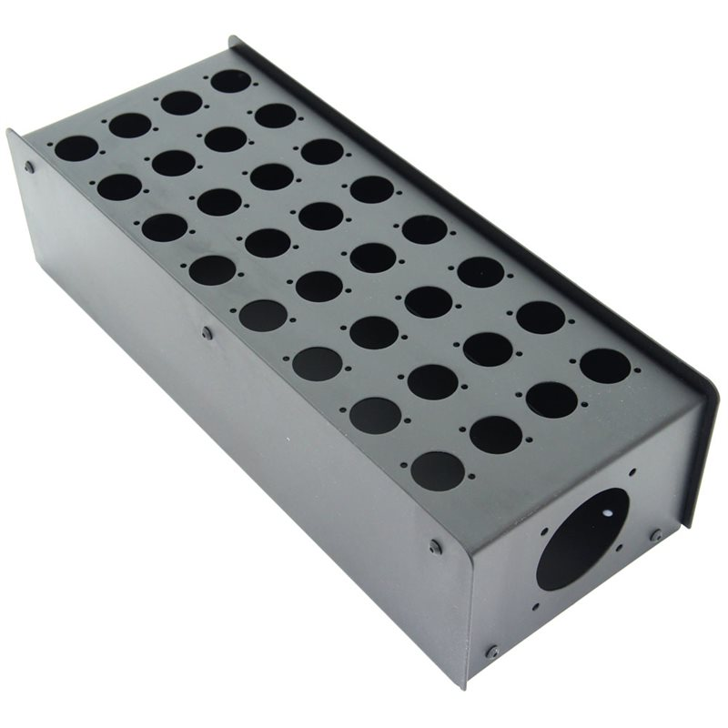 Penn Elcom 32 Hole Stage Box Punched for D-Series Connectors R2350-32