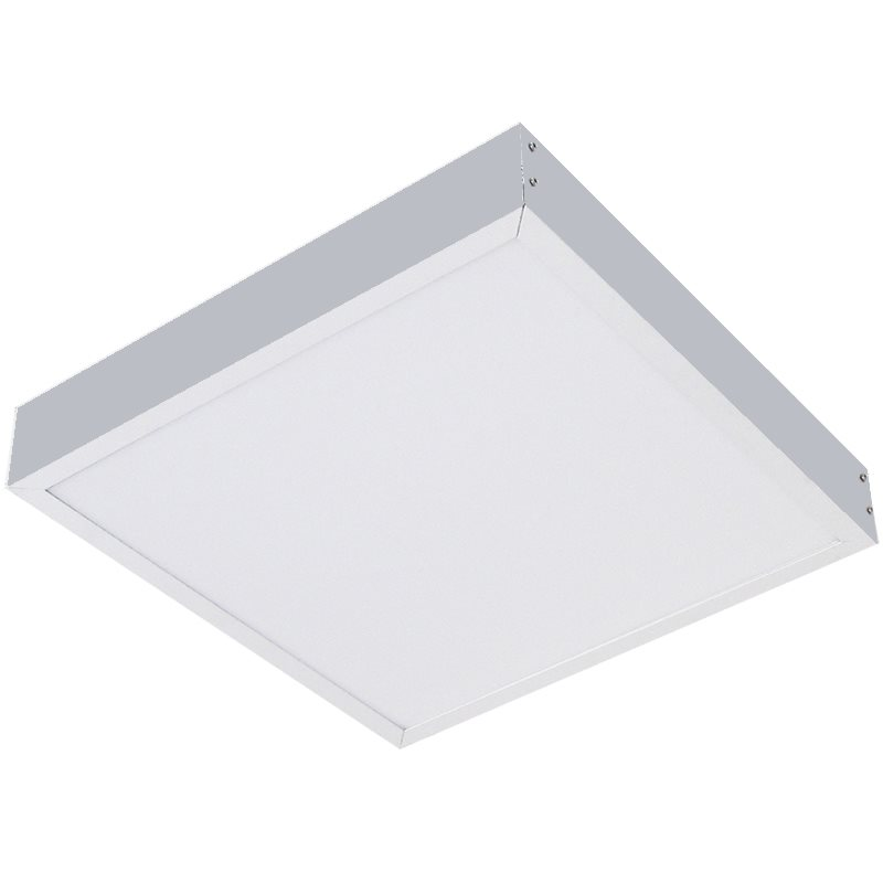 Comus LED Surface mounting frame in Silver for panels LEDPANSMFS
