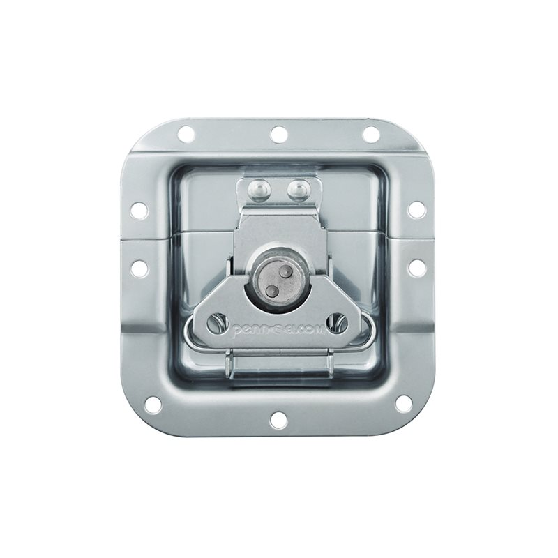 "Penn Elcom Medium Recessed Butterfly Latch in Very Shallow 27mm / 1 1/16"" Offset Dish L907/915/07"