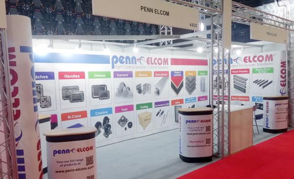 Penn Elcom Exhibits Prolight Sound Dubai