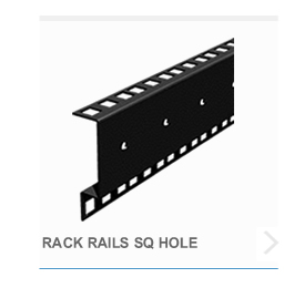 Rack Rail SQ Hole