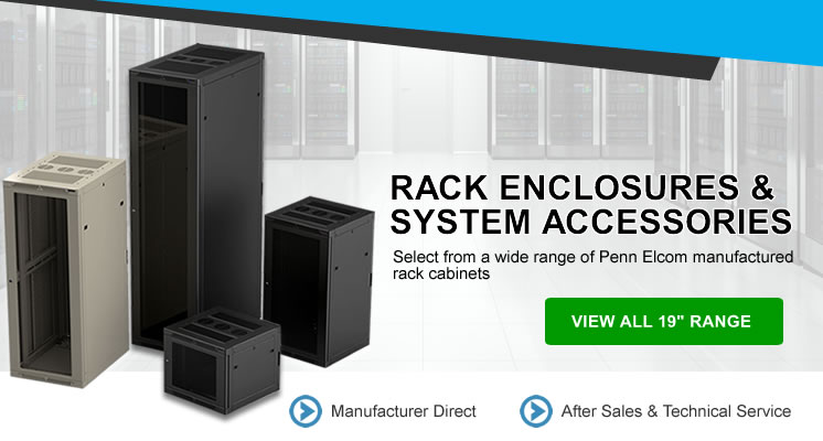 Rack Enclosures and System Accessories by Penn Elcom