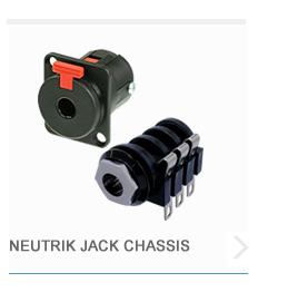 Neutrik Jack Chassis