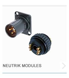 Neutrik Modules