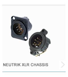 Neutrik XLR Chassis