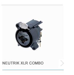 Neutrik XLR Combo