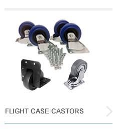 Flight Case Castors